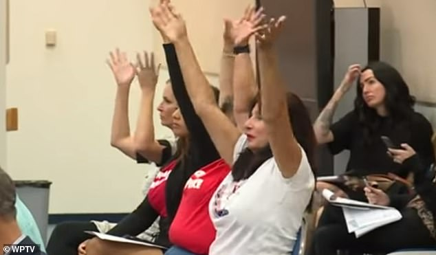 In total, 52 people testified at Tuesday's hearing in West Palm Beach, the overwhelming majority of whom were against the new law