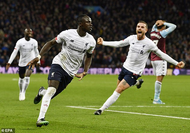 Sadio Mane then scored in injury time as Liverpool completed another smash and grab win