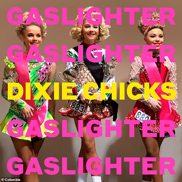 New look: In addition to changing their official social media handles, the cover of the upcoming album, Gaslighter, has been modified from Dixie Chicks to The Chicks