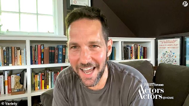 Ant-Man himself:Paul Rudd and Chris Evans sat down remotely for a chat as part of the digital series Variety Studio: Actors on Actors on Thursday, and some naughty joking happened
