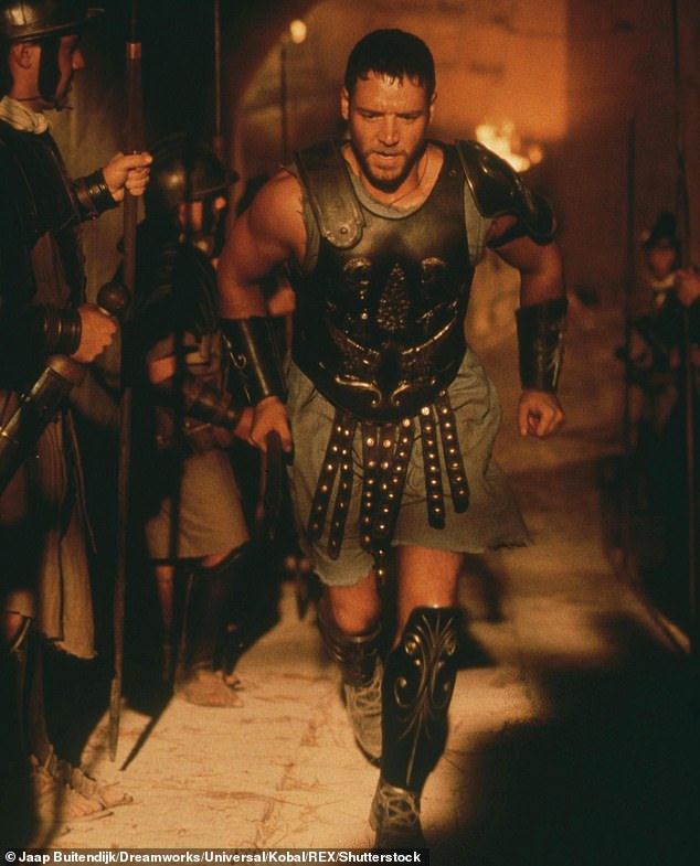 The rest is history: The producer Crowe was speaking to at the time succeeded in convincing the Insider star to still meet with Gladiator's acclaimed director, Ridley Scott, and they 'clicked'