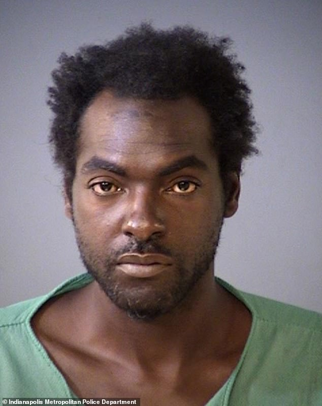Victor Alvin Johnson, 37, was arrested June 18 for attacking seven women at knife point in less than 24 hours in Indianapolis, after claiming time travelers were harassing him