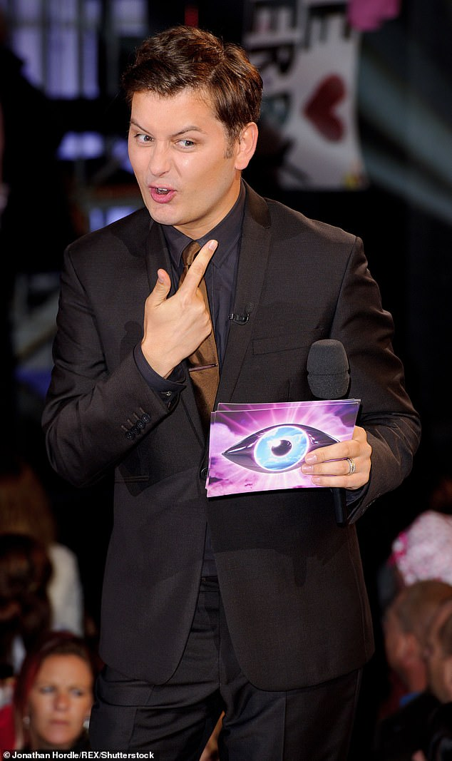 Speaking out: It comes after Brian hit out at Big Brother bosses for secretly hiring Emma Willis to replace him as host behind his back (pictured in 2011)