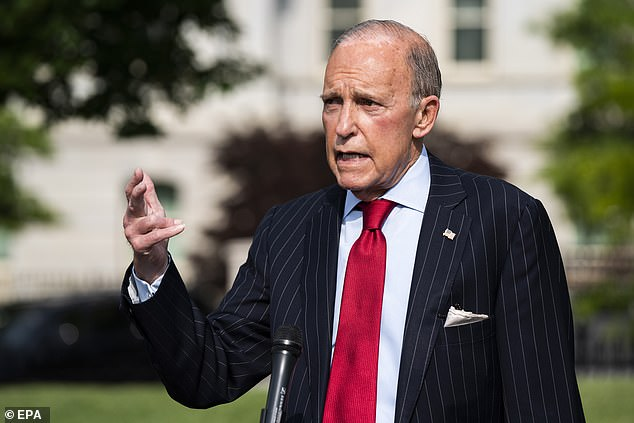 White House economic adviser Larry Kudlow said last month that the $ 600 benefits did not encourage unemployed Americans to find new jobs.