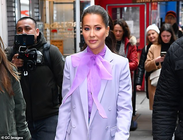 Jessica Mulroney, photographed, would try to organize a return