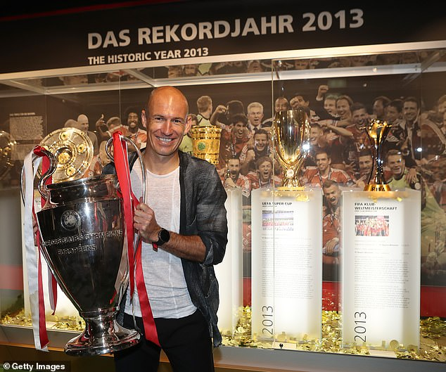 The Dutchman spent a very successful 10 years at Bayern Munich before leaving in 2019