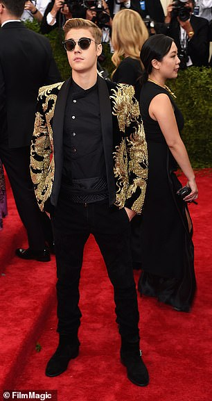 Bieber, who was in New York on that date to attend the Met Gala, described, described the story of Kadi as