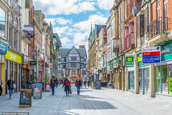 A local lockdown could mean that Leicester and the smaller areas around it could be denied new privileges granted to the rest of the country on Saturday July 4, which will include the reopening of pubs and restaurants (stock image)