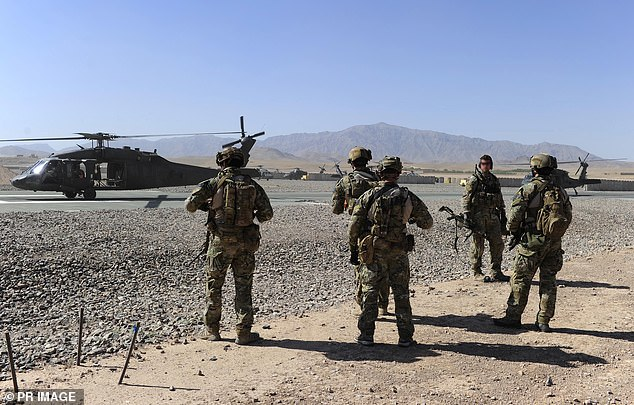 His comments are widely interpreted as an admission that the Brereton Inquiry is going to make adverse findings when it finishes in July. Pictured: Australian Special Operations Task Group Soldiers in Afghanistan in 2013