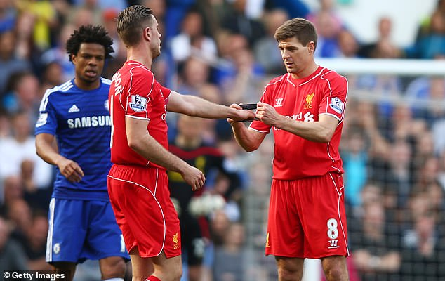 Henderson had the unenviable task of replacing Gerrard as Liverpool captain in 2015
