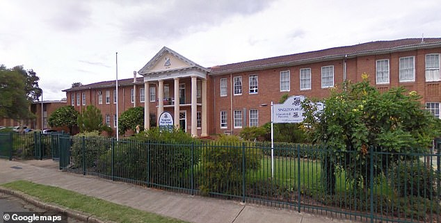 The teacher at Singleton High School (pictured), in the NSW Hunter Valley, made the derogatory comments during a year nine cooking class last Tuesday