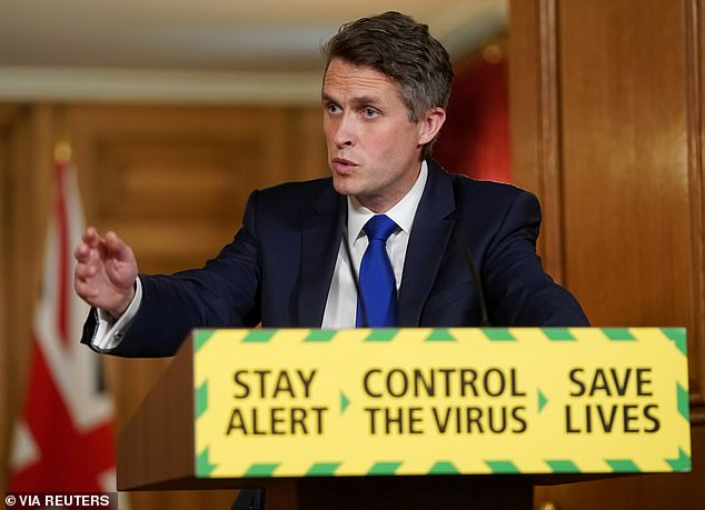 Gavin Williamson will publish a plan this week setting out how all pupils will return to the classroom in September