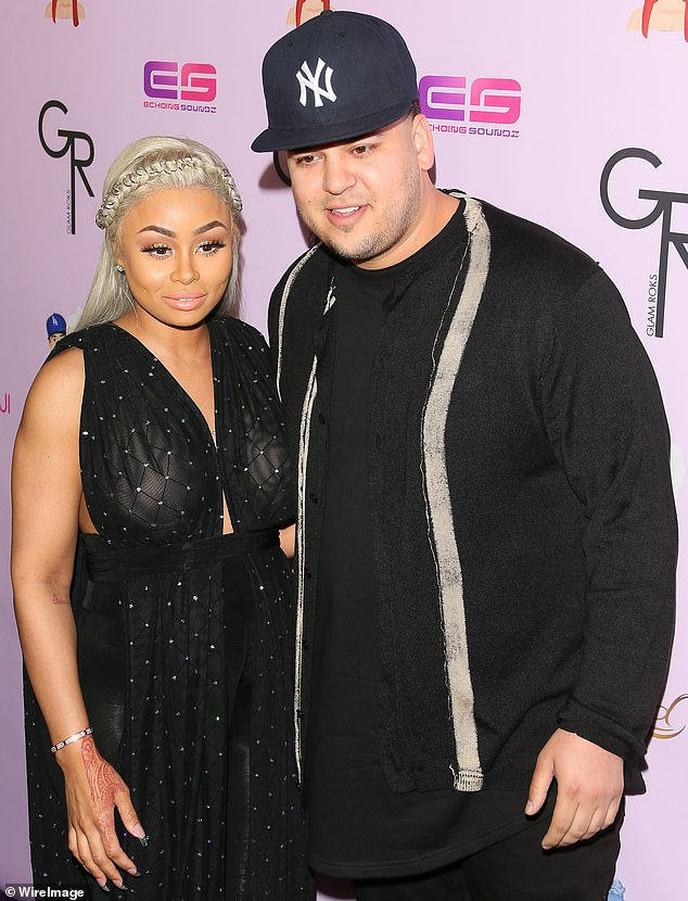 Social media cleanup: Rob has been silent on social media since his 2017 porn revenge scandal with ex-Blac Chyna (photo in May 2016)