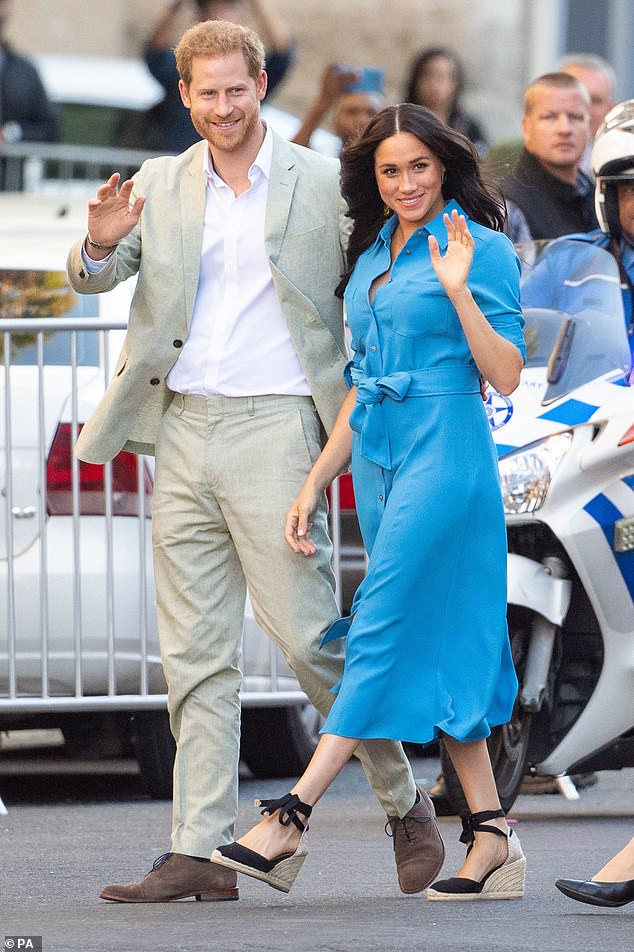 The Duke and Duchess of Sussex arriving for a visit to the District Six Museum in Cape Town, South Africa, on the first day of their tour of Africa