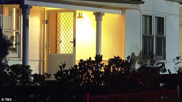 The man in his 40s was found with a gunshot wound in his leg just before 8pm on Monday at a property on Jones Street in Wentworthville in Sydney's west