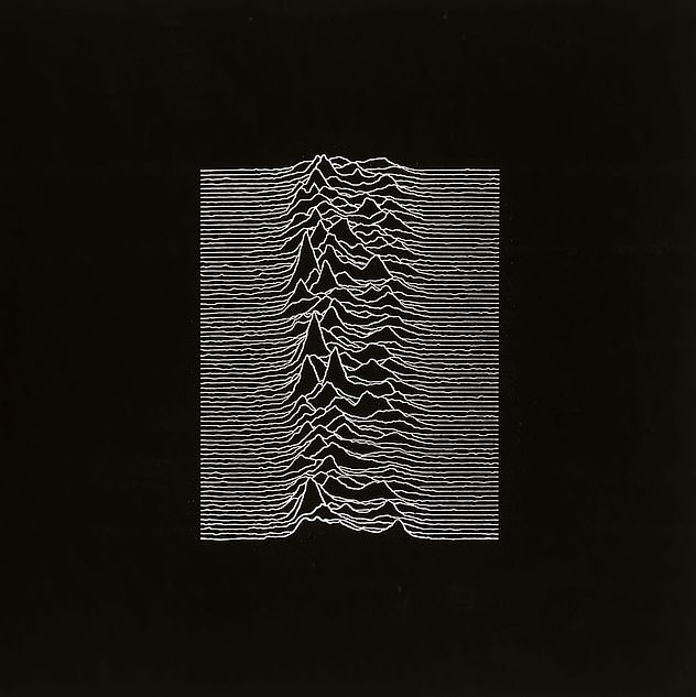 Comparisons were made with the artwork for 1979 Joy Division album Unknown Pleasures