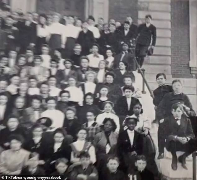 'In 1868 state law allowed but did not require separate schools,' KHS explains. 'Some schools admitted children without discrimination'