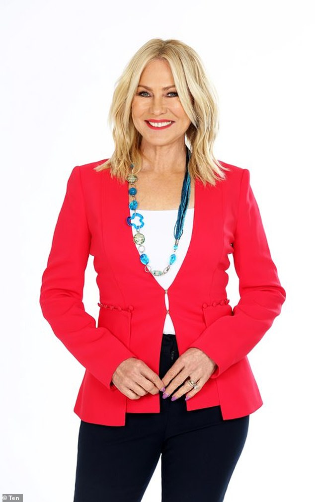 The alleged source is quoted as saying: 'The decline of Studio 10 has been extraordinary to watch. The show went from fan-favourite and media darling to a show no-one seems to care about any more'. Pictured: Kerri-Anne Kennerley
