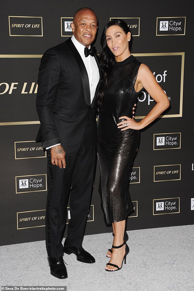Split! Dr. Dre's wife Nicole Young has filed for divorce after 24 years from the rapper (who is worth an estimated $800 million)