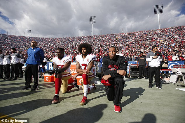 'With his act of protest, Colin Kaepernick ignited a national conversation about race and justice with far-reaching consequences for football, culture and for him, personally,' DuVernay said in a statement