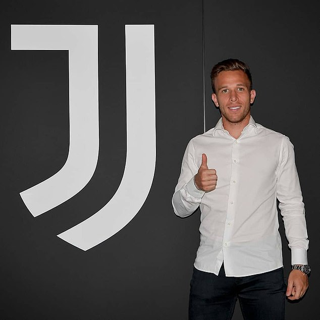 Arthur Melo has agreed to join Juventus this week in a £73million deal from Barcelona