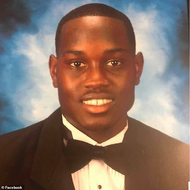 The 25-year-old black man was out jogging in February in Glynn County, Georgia, when he was confronted by two white men, father and son Gregory and Travis McMichael.A video of the confrontation shows Arbery struggling with one of the men then three shots ring out - an autopsy showed he was shot twice in the chest