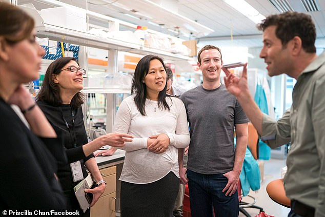 Mark Zuckerberg has dismissed calls for him to resign from Facebook as 'ridiculous' after facing backlash from employees at the charity he and wife Priscilla run over his refusal to crack down on President Donald Trump's posts and hate speech