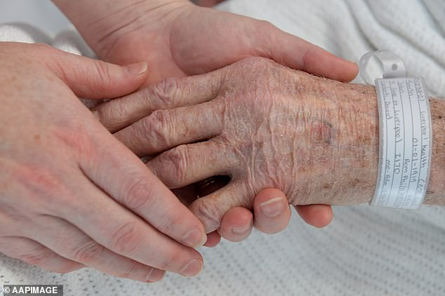 The stark figures will put further pressure on the Government, which has been accused of failing to protect care homes properly during the pandemic (file photo)
