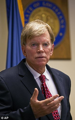 David Duke is a longtime Ku Klux Klan leader and is an outspoken Holocaust denier who won election to Louisiana's House of Representatives