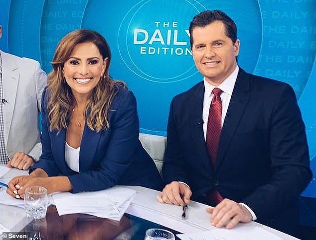 Channel 7 program The Daily Edition, which Phelan (left) hosted with Sally Obermeder, was axed by the network earlier this month