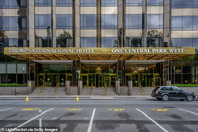 The Trump International Hotel, which faces Central Park, also was among hotels that did not pass a hidden test to see how well they cleaned their rooms during COVID-19