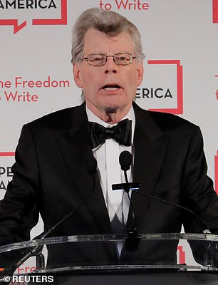 Pictured: Stephen King