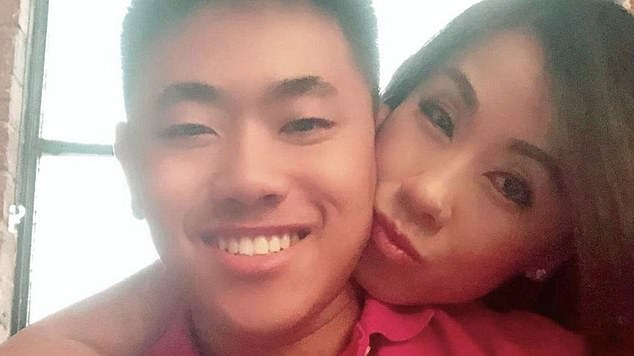 Mr Tran (pictured, left) has been mourned by his distraught mother Amy (right), who said the family 'have no idea why this happened'