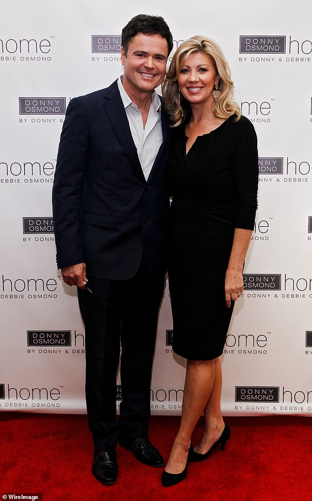 High bar: Josh and Summer can look to Donny and Debbie Osmond as role models considering they've been married over 42 years; couple are pictured in New York City in September 2013
