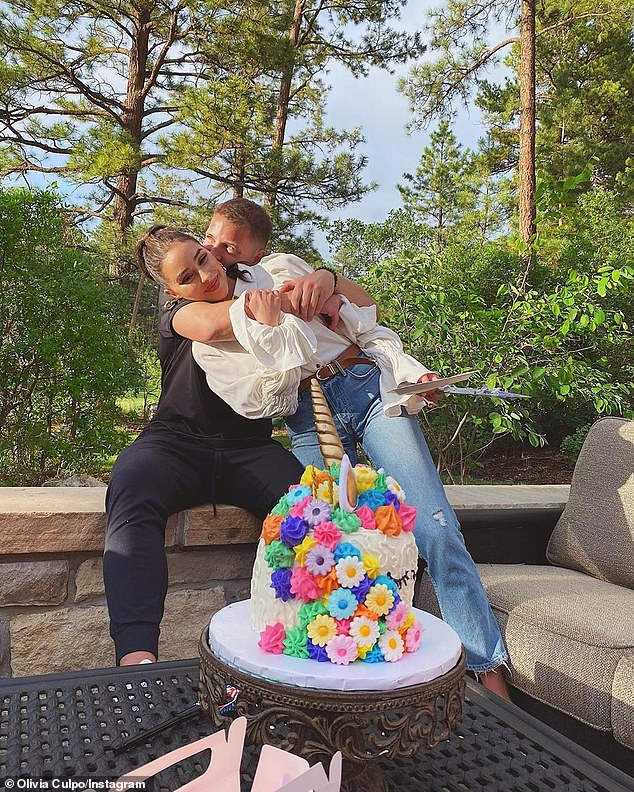 He takes the cake! Culpo has been quarantining with her boyfriend after getting together over the summer