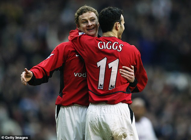 Solskjaer likens it to when he played at United with the likes of Ryan Giggs and Paul Scholes