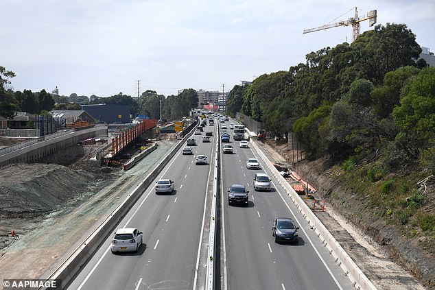Sydney motorists are about to be slugged with more road tolls, when a new section of WestConnex opens this weekend (pictured, the M4 extension)
