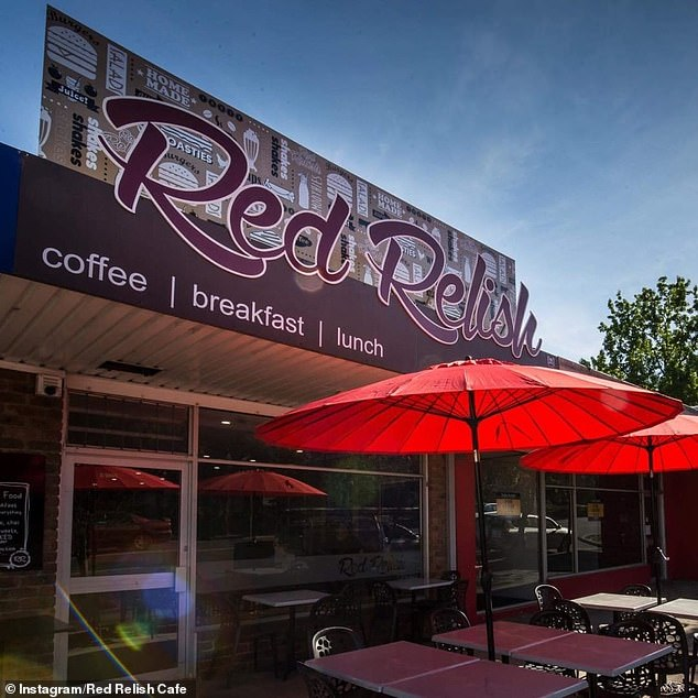Red Relish Cafe in Yarra Junction, Victoria, (pictured) announced they will close their doors after 'ignorant and aggressive' customers failed to follow social distancing rules