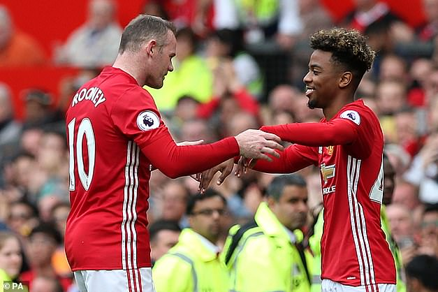 Gomes made his first-team debut at the age of 16 as a substitute for Wayne Rooney in 2017