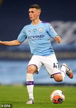 Eyre said Foden, who decided to stay at City, has the 'most natural talent' he has ever seen