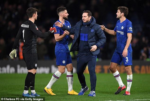 Lampard looks set to guide Chelsea to a Champions League spot despite financial constraints