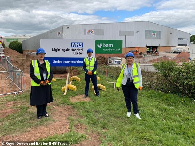 Sir Simon told MPs that the Exeter Nightingale site will be the first to be converted into a coronavirus-free cancer clinic starting from Monday