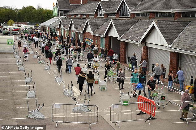 The shopping experience has been transformed by rules which stipulate people must stay 2m apart at all times where possible. Long, spaced-out queues and one-in, one-out policies have become commonplace