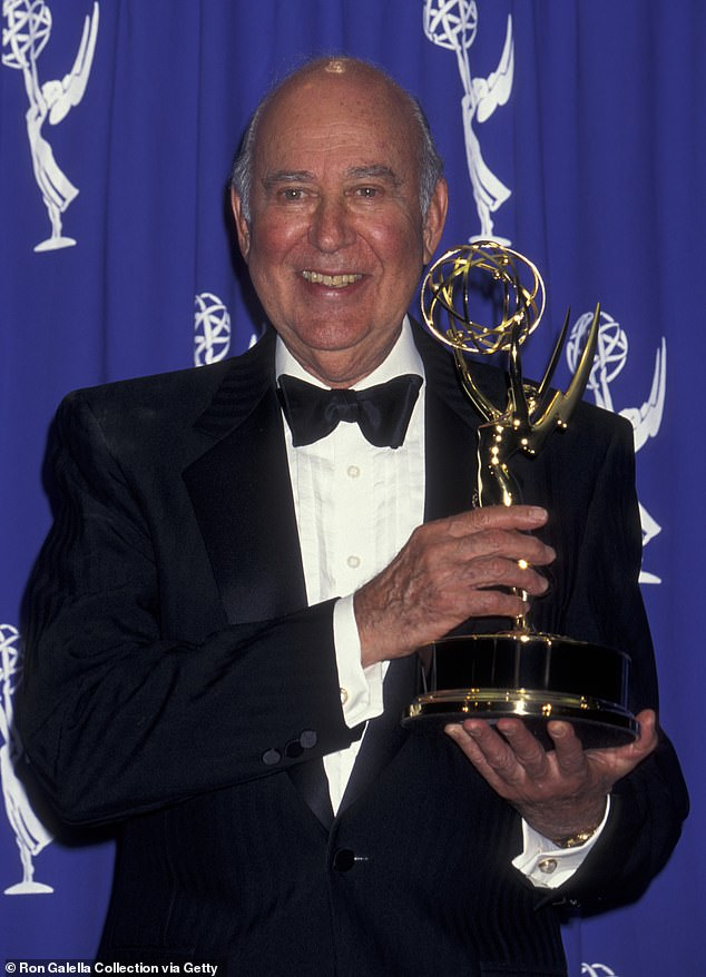 In memory: Carl Reiner at the 47th Annual Primetime Emmy Awards on September 9, 1999 at the Pasadena Civic Auditorium in Pasadena, California