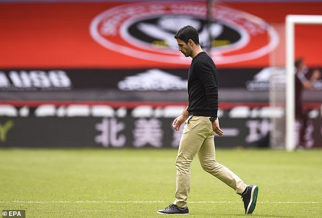 Mikel Arteta suggested Ozil needed a bit more time before Arsenal used him again this season