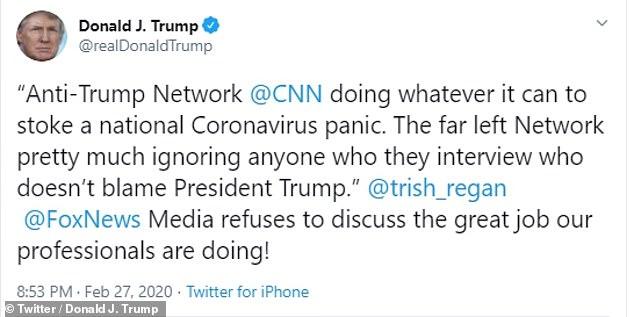 Trump blasted CNN on the evening of Feb. 27