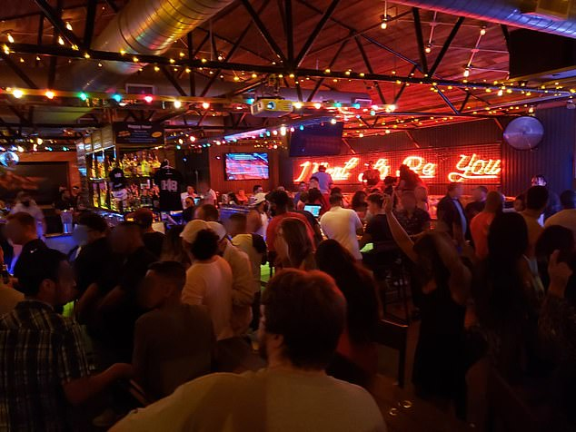 Health officials have described young people's actions in states like Texas as irresponsible behavior as photos show packed bars and restaurants after the state lifted restrictions.Texas Governor Greg Abbott reversed that decision last Friday when he ordered all bars to close