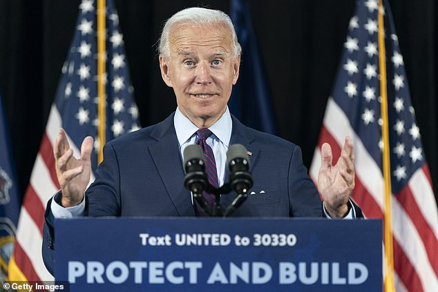 Joe Biden will give his second address in a week attacking President Trump's response to the coronavirus criss and his overall behavior