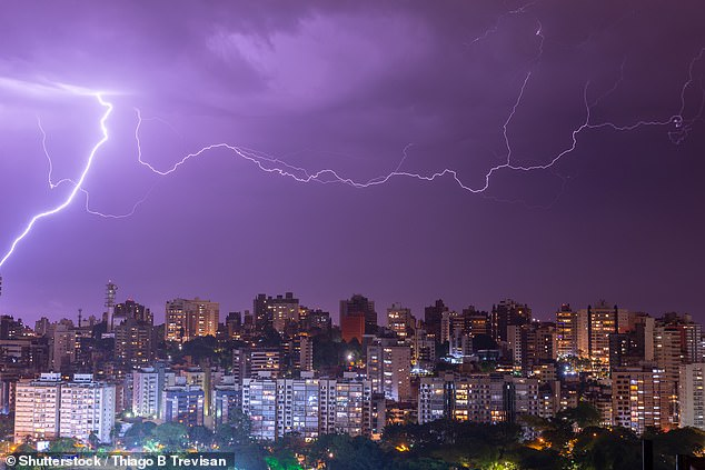 On October 31, 2018, a bolt of lightning measuring 440 miles lit up the night sky over parts of Southern Brazil and experts now say it set a new world record