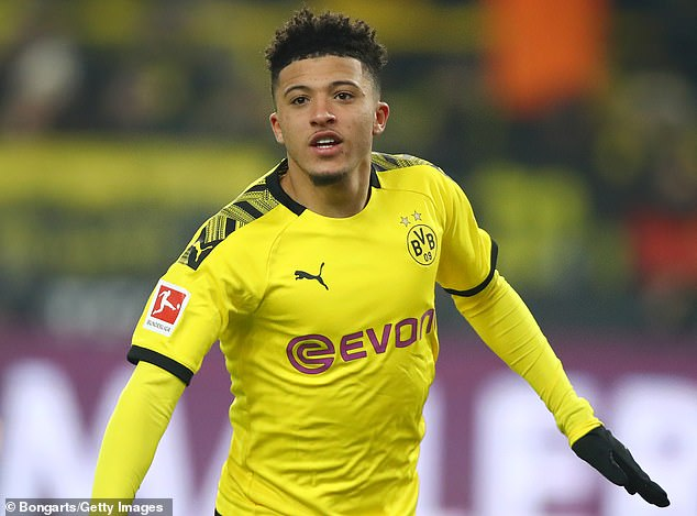 Jadon Sancho has had another prolific season for Borussia Dortmund and is Utd's top target